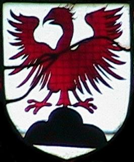 vitrail de l'église de Brou en 1525
